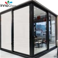 HI-Q 110V high transparent standard Milky White Self-adhesive switchable PDLC film smart film