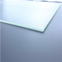 Clear solar panel tempered glass