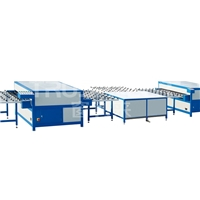 China Truspacer Horizontal Insulating Glass Double Glazed Hot Press Machine Equipment Heated Roller Press Machine