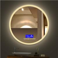 Morden popular touch switches  intelligent Anti fog led light bluetooth bathroom mirror
