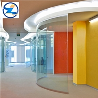 Bent tempered glass ,curved tempered glass, building glass