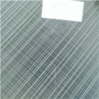 Decorative silk cloth Laminated EVA and PVB Toughened Glass ,best price