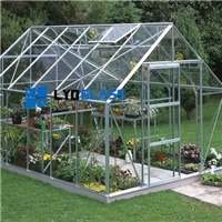 4MM tempered glass for Aluminum greenhouse