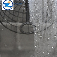 Self-cleaning tempered glass for building