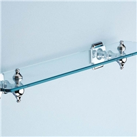 tempered ,flat polished edge  shelf  glass, furniture glass