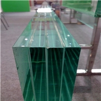 12.38mm clear/color PVB laminated glass