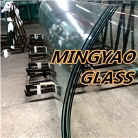 5-19mm Curve Bend Tempered Glass Toughened glass