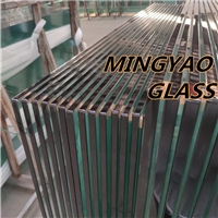 Tempered Toughened glass with safety corners
