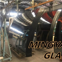 Curved Bend Insulated glass LOWE GLASS