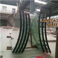 Curved Bend Jumbo size Insulated glass LOWE GLASS