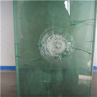 bulletproof glass high quality laminated temper glass