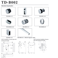 Sliding Door Fitting  TD-B002