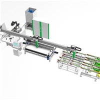 High efficiency and labor-saving home appliance glass cutting/grinding production line