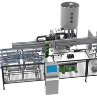Fully automatic glass edge grinding machine
