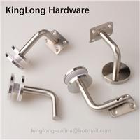 Stainless Steel Handrail Brackets Glass Fitting
