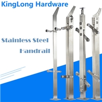Balustrades Glass Handrail by Tempered Glass