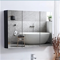 Modern and Contemporary Bathromm Furniture Vanity Bath Supplies Combination Mirror Cabinet with Touch Switch