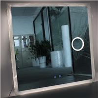 Luxury Mirrors Wholesale Decorative Mirror Square Bathroom Mirror LED Smart Bathroom Mirror with Bluetooth