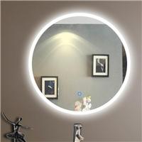 Round shape LED mirror Dimmer and Defogger, bathroom backlit mirror